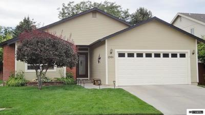 Gardnerville Single Family Home New: 1501 Mill Creek