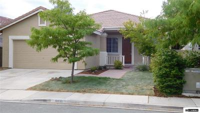 Reno Single Family Home New: 9881 Northup Dr