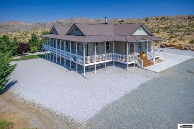 Reno Single Family Home New: 1290 Antelope Valley Road