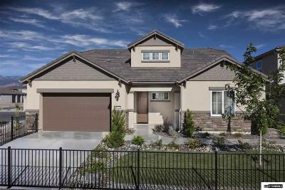 Washoe County Single Family Home For Sale: 1750 Verdi Vista