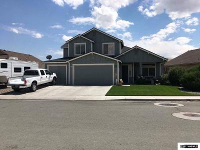 Fernley Single Family Home New: 987 Agate