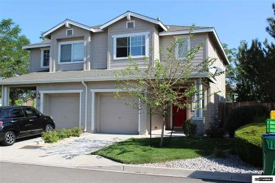 Reno Single Family Home New: 9296 Lone Wolf
