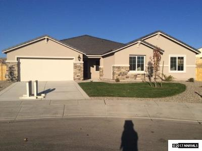 Sparks Single Family Home New: 7436 Comet Ct