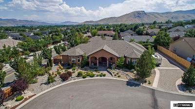 Carson City Single Family Home Active/Pending-House: 2557 Fern Meadow Circle