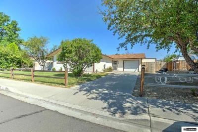 Carson City Single Family Home Active/Pending-Loan: 500 Sandstone