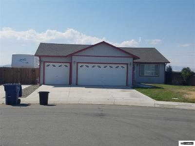 Fernley Single Family Home Price Reduced: 927 Short-Cut Lane