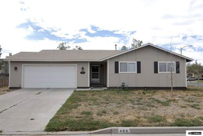 Fernley Single Family Home New: 405 Willow Way