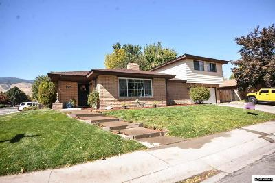 Carson City Single Family Home For Sale: 500 Bulette