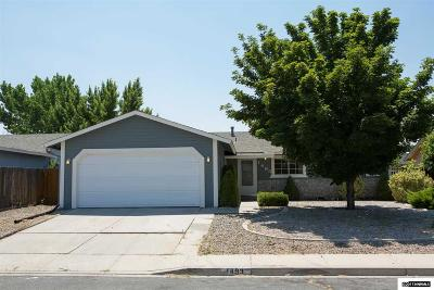 Carson City Single Family Home For Sale: 1493 Lindsay