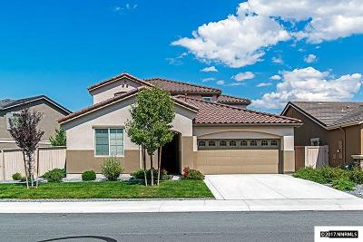Washoe County Single Family Home Active/Pending-Call: 10884 Pebble Hill Drive