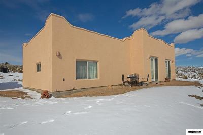 Reno Single Family Home New: 200 Curnow Canyon Road