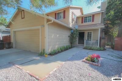 Carson City Single Family Home For Sale: 2549 Sycamore Glen