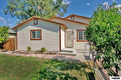 Reno Single Family Home New: 1715 Castle Way