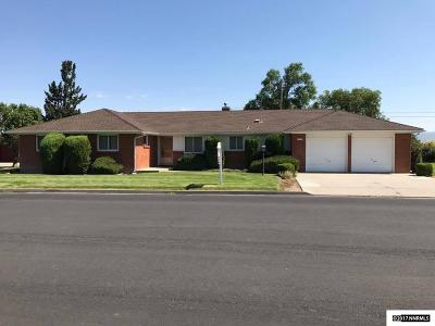 Gardnerville Single Family Home Active/Pending-Loan: 1513 Circle Dr