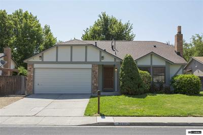 Reno Single Family Home Active/Pending-Loan: 3640 La Tierra Terrace