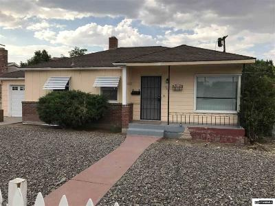 Reno Single Family Home New: 750 Balzar