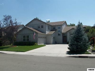 Sparks Single Family Home Active/Pending-Loan: 2255 Madrid Drive