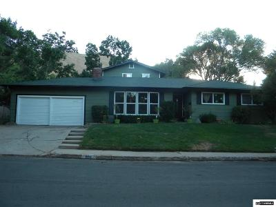 Carson City County Single Family Home Active/Pending-Loan: 808 Crain Street