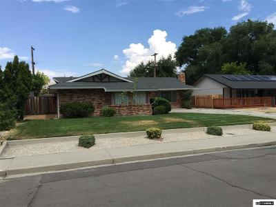 Carson City Single Family Home Active/Pending-Call: 504 W Long St