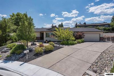 Reno Single Family Home New: 3470 Norman Circle