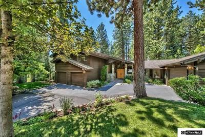 Incline Village Single Family Home For Sale: 601 Caddie Court