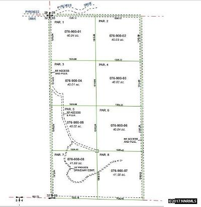 Sparks Residential Lots & Land For Sale: 2 Pyrenees