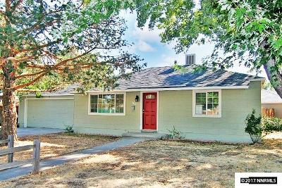 Sparks Single Family Home Active/Pending-Loan: 1406 4th Street
