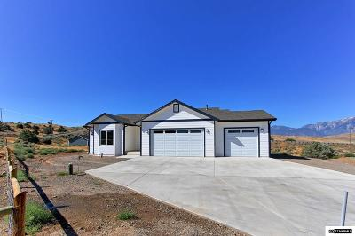 Gardnerville Single Family Home For Sale: 568 Lone Star Ct