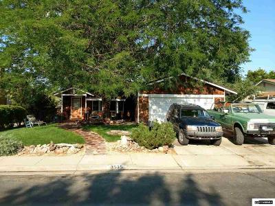Reno Single Family Home New: 3535 Parque Verde Ln