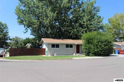 Gardnerville Single Family Home Active/Pending-Loan: 1378 Elges Avenue