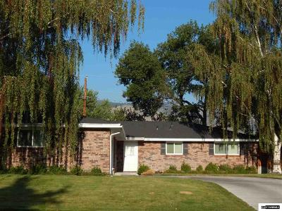 Carson City Single Family Home Active/Pending-Loan: 808 N Richmond