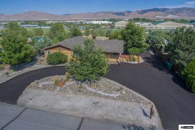 Washoe County Single Family Home Active/Pending-Call: 13415 South Hills