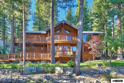 Incline Village NV Single Family Home For Sale: $3,200,000