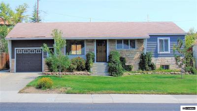 Washoe County Single Family Home New: 1611 Elmcrest