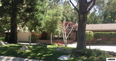 Reno Single Family Home New: 1602 Circle Drive