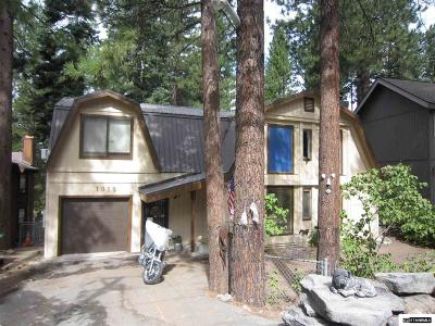 Incline Village Single Family Home For Sale: 1015 Tomahawk Trl