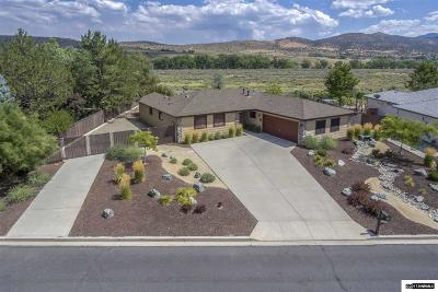 Carson City County Single Family Home Active/Pending-Loan: 271 Marsh Rd