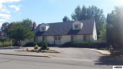Minden Single Family Home For Sale: 1600 County Rd