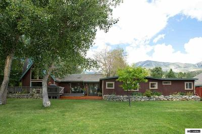 Washoe County Single Family Home Active/Pending-Loan: 3225 Old Us 395 Washoe Valley