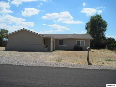 Gardnerville Single Family Home Active/Pending-Short Sale: 1323 Marlette Cir