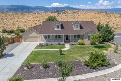 Carson City County Single Family Home For Sale: 1116 Camballeria