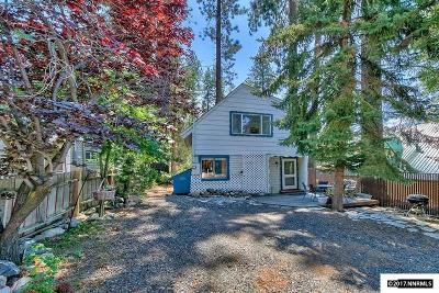 Zephyr Cove Single Family Home For Sale: 207 Lyons