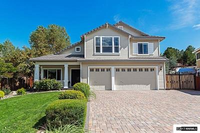 Washoe County Single Family Home Active/Pending-Loan: 125 Shelter Court