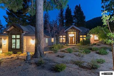 Washoe County Single Family Home For Sale: 306 E Jeffrey Pine