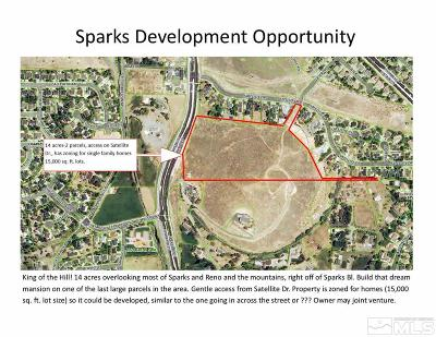 Sparks Residential Lots & Land For Sale: Satellite Dr.