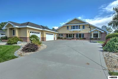 Gardnerville Single Family Home Active/Pending-Loan: 1550 Glenwood Drive