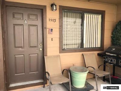 Washoe County Condo/Townhouse For Sale: 2925 Tierra Verde E