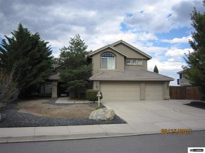 Washoe County Single Family Home Back On Market: 7069 Heatherwood Dr