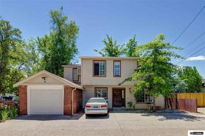 Washoe County Single Family Home Active/Pending-Call: 879 Walker Ave