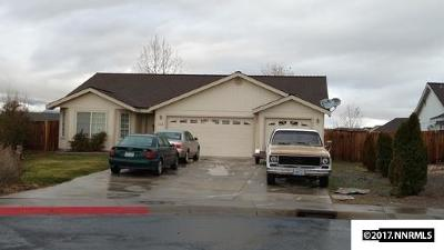 Fernley Single Family Home For Sale: 645 Angela